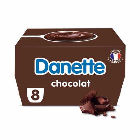 Danette chocolat 8x125g