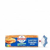 Jacquet 24 petites tranches nature sans sucres ajoutés 450g