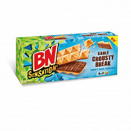 Bn sensation sablé crousty break 5x2 barres 195g