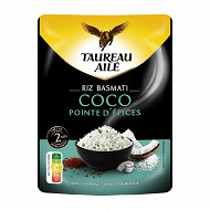 Taureau ailé riz basmati coco 2min 250g