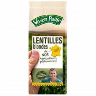 Vivien paille lentilles blondes de nos agriculteurs 500g