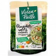Vivien paille flageolets verts cuisines 250g