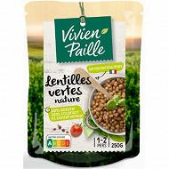 Soufflet lentilles vertes nature 250g