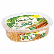 Bonduelle carottes râpées bio 200g