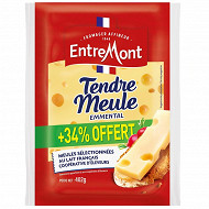 Entremont portion emmental français tendre meule 300g + 34% offert