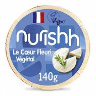 Nurishh coeur fleuri végétal - sans lactose - végan - 140g