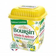 Boursin salade et apéritif tomate basilic 120g