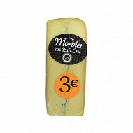 Morbier au lait cru pasteurisé de vache 29%mg 190G