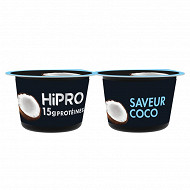 Hipro saveur coco 2x160g
