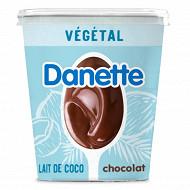 Danette végétal chocolat lait de coco 400g