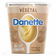 Danette végétal au lait d'amande vanille 400g