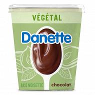 Danette végétal chocolat base noisette 400g