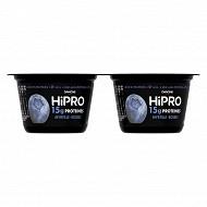 Hipro fruit myrtille 2x160g