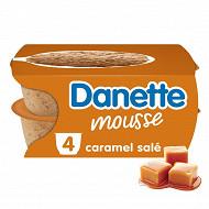 Danette mousse caramel salé 4x60g