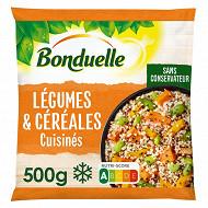 Bonduelle légumes et céréales cuisinés - patate douce, edamame, butternut, boulgour 500g