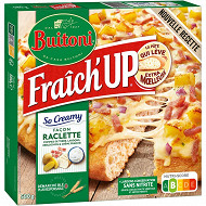 BUITONI FRAICH'UP SO CREAMY pizza surgelée Façon Raclette 580g