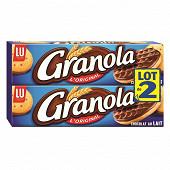 Granola biscuits chocolat au lait 2x200g