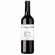 St Jean de la Vallée sélection vin de la communaut& européene rouge 75cl