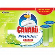 Canard WC fresh disc citron vert recharge 2x6 disques