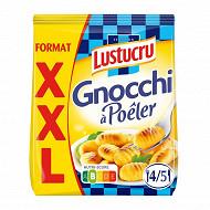 Lustucru Sélection Gnocchi à poêler XXL 715g