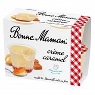 Bonne Maman crème caramel 4x100 g