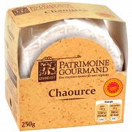 Patrimoine gourmand chaource AOP au lait thermisé 250 g