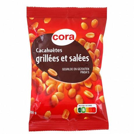 Cora cacahuètes grillées et salées 250g