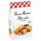 Bonne Maman petits cake aux fruits 300g