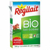 Régilait lait écrémé bio en poudre 250g