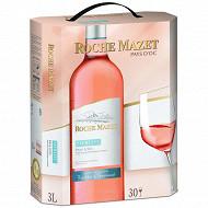 Roche Mazet IGP Pays d'OC merlot rosé BIB 3L 12%vol