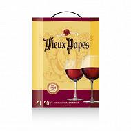 Vieux Papes vin rouge CE BIB 5L 11.5%vol