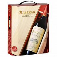 Blaissac AOC bordeaux rouge bib 3L 13%vol