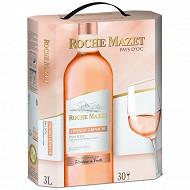 Roche Mazet IGP Pays d'Oc Grenache Cinsault rosé BIB 3L 12%vol