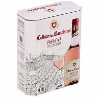Cellier des dauphins prestige aoc cdr rosé 3L 13%vol