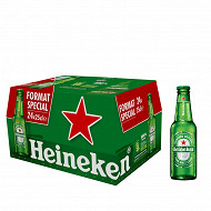 Heineken bière blonde premium 24x25cl 5%vol
