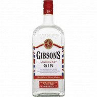 Gibson's London dry gin 1L 37,5%vol
