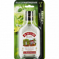 La martiniquaise rhum blanc blister 20cl 40%vol