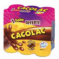 Cacolac pack  de 5 x 25 cl + 1 offerte