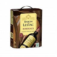 Bordeaux baron de lestac bib 3L 13.5%vol