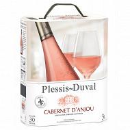 Plessis duval aoc cabernet d'anjou rosé bib 3L 11%vol