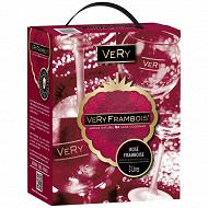 Very pamp rose framboise bib 3L 10%vol