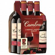 Vin Cambras Merlot Cabernet Sauvignon 4 x 75 cl 12,5% Vol.