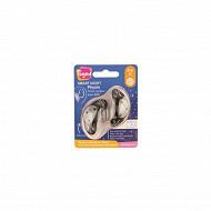 2 sucettes smart night silicone panda 0/6 mois Tigex
