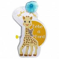 Bébé à bord clignotant Vulli Sophie La Girafe
