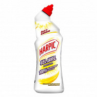 Harpic gel javel éclat et blancheur citron pamplemousse flacon de 75cl