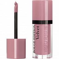 Bourjois rouge à lèvres rouge édition velvet 010 don't pink