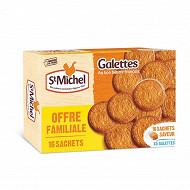 St michel galette format familiale 16 sachets 520g