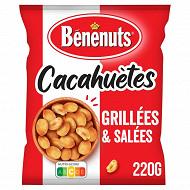 Bénénuts cacahuètes grillées salées 220g