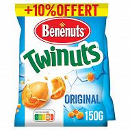 Bénénuts twinuts goût salé 2x150g + 10% offert