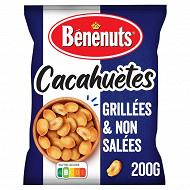 Bénénuts cacahuètes grillées non salées 200g